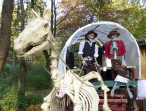 Lotherton Spooky Scarecrows
